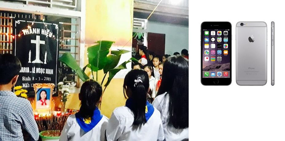 VIDEO. A 14-yr-old schoolgirl electrocuted while using iPhone in bed